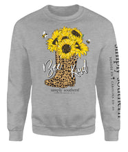 Bee Kind Crew Sweatshirt