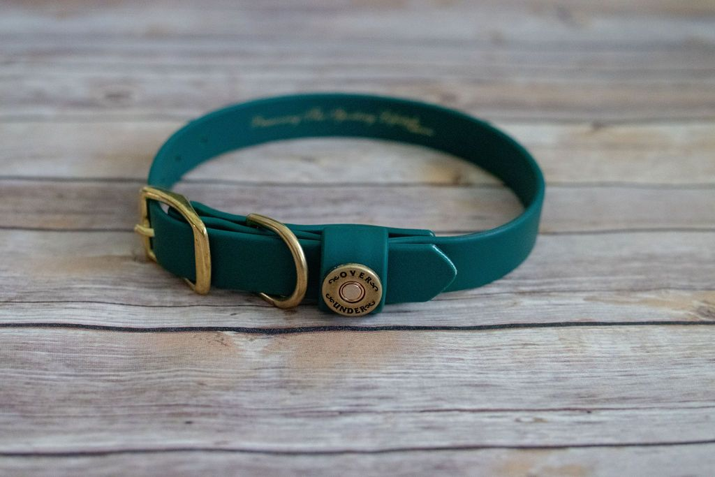 Water Dog Collar - Alpine Green