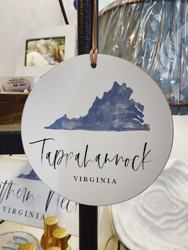 Tappahanock Virginia Ball Ornament