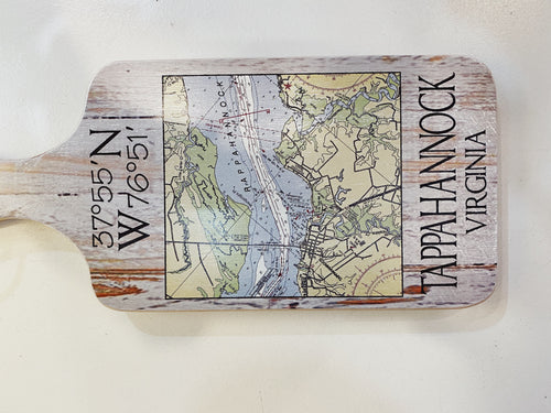 Tappahannock Virginia Cutting Board