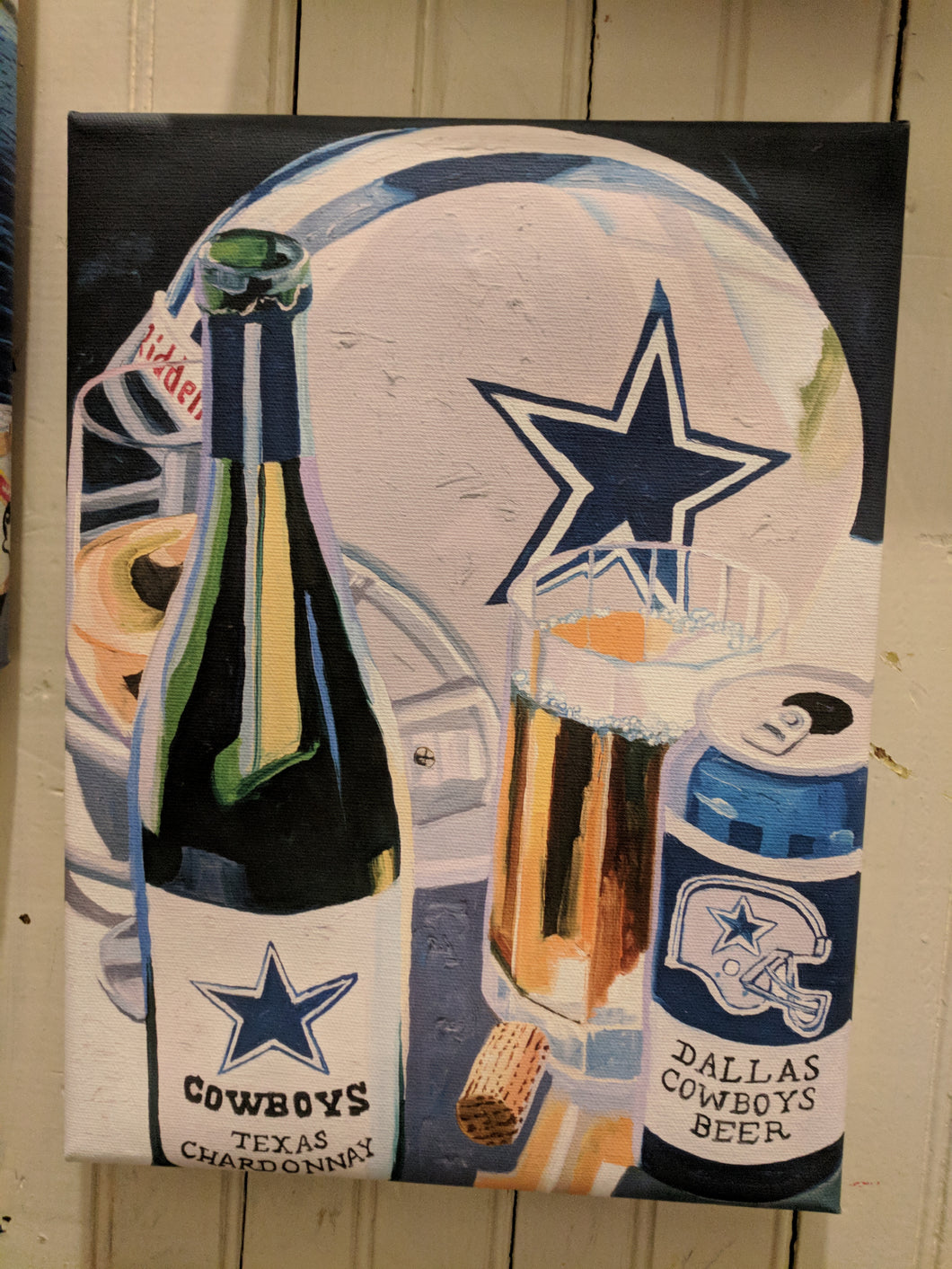 Cowboys Mini Canvas