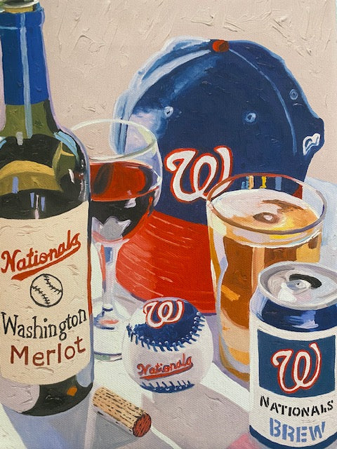 Washington Nationals Mini Canvas