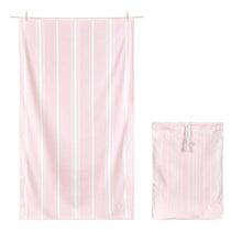 Quick Dry Bath Towel - Peppermint Pink
