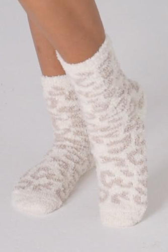 Barefoot Dreams Cheetah Socks