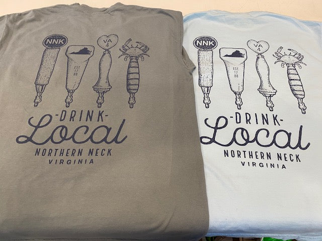 Drink Local Northern Neck Shirt Short Sleeve