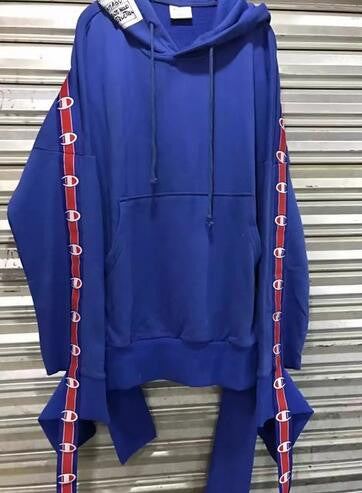 e9a61cd7b346 Vetements x Champion Taped TrackSuit Hoodie and Sweat Pants ...