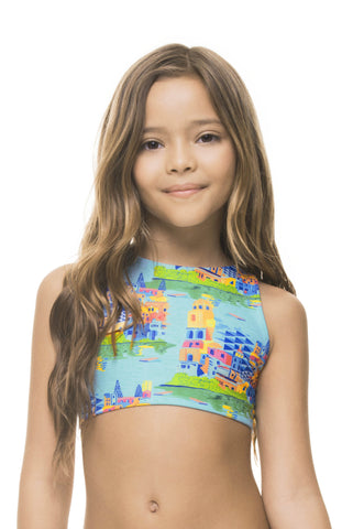 BOATTRIP GIRLS' CROP TOP