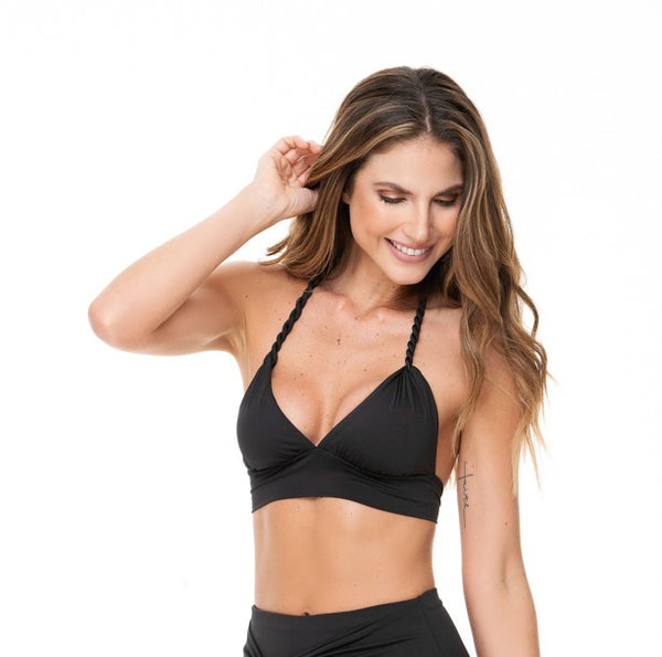 HALTER BLACK TOP