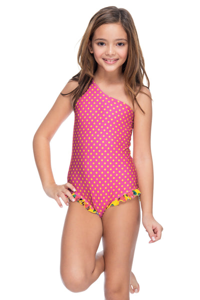 BRIGHT GARDEN GIRL'S ONE PIECE