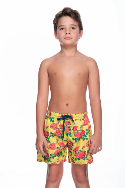 BRIGHT GARDEN BOY'S SWIMTRUNK