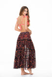 LONG PATCH NOMADIC FOLK SKIRT