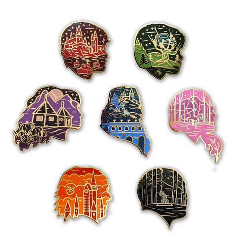 Magical Silhouette Pin Series One * READ DESCRIPTION*
