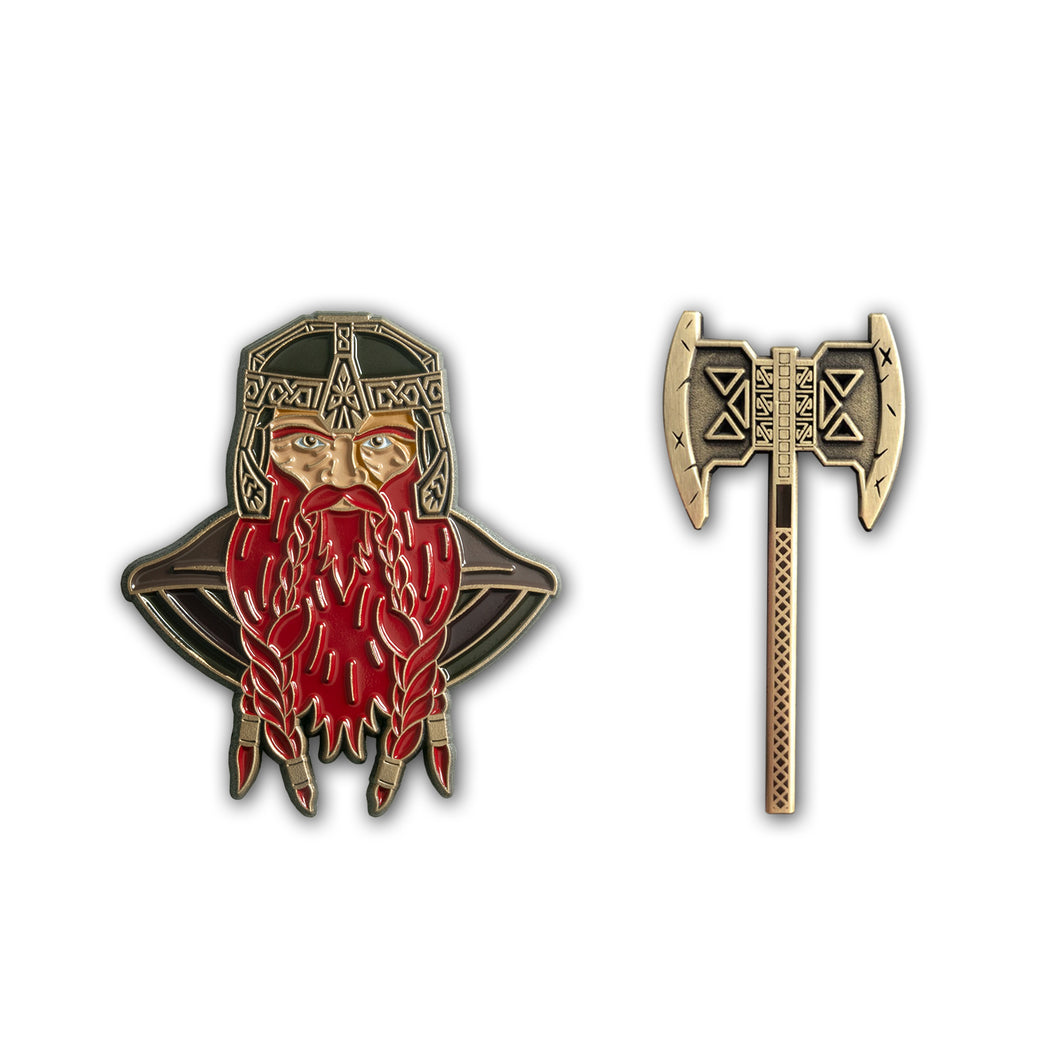 And My Axe Pin Set