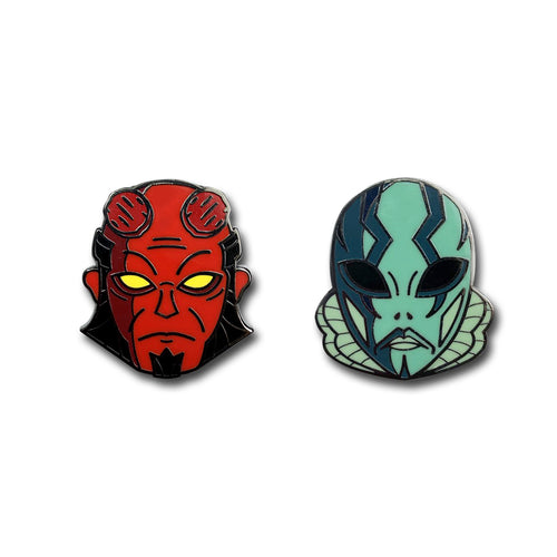 Hellish Duo Pins