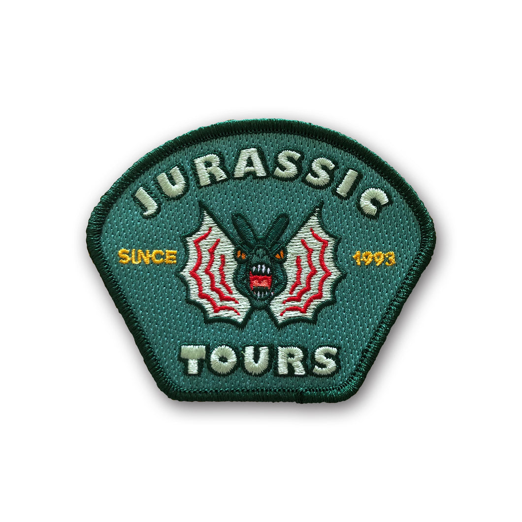 Jurassic Tours Patch