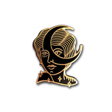 Moon Girl Pin