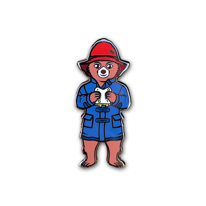 Marmalade Bear Pin