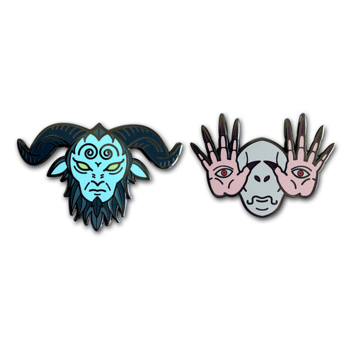 Labyrinth Pin Set
