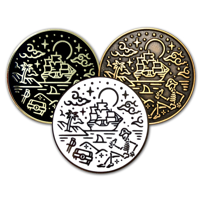 A Pirate's Life For Me Pins