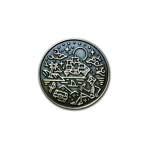 A Pirate's Life For Me Pin *Doubloon Variant *