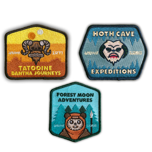 Galaxy Tours Patches