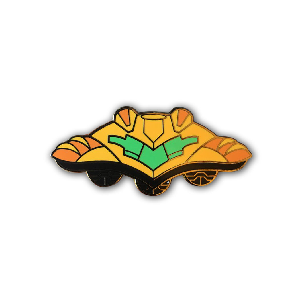 Super Gunship Pin