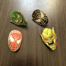 Full Spidey Pin Set
