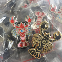 All-Seeing Lobster Pin Set