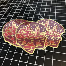 "Sorcerer 3"" Mirror Sticker"