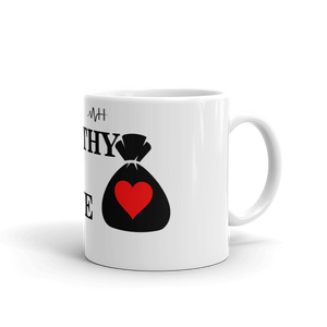 "Mental-Hop ""Wealthy In Love"" Mug"
