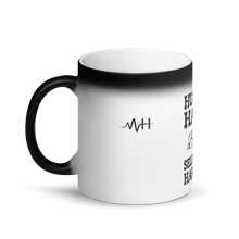 Load image into Gallery viewer, MH Hustle Hard Matte Black Magic Mug