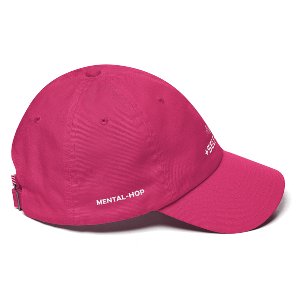 Mental-Hop +Self-Talk Cotton Cap
