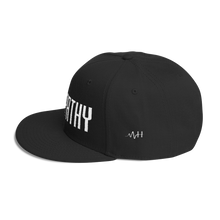 Load image into Gallery viewer, MH Empathy Wool Blend Snapback Black/White