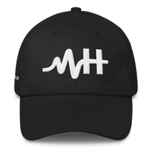 Load image into Gallery viewer, MH Classic Dad Cap Black/White