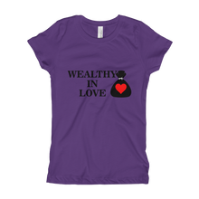 Load image into Gallery viewer, Mental-Hop Wealthy In Love Girl's T-Shirt