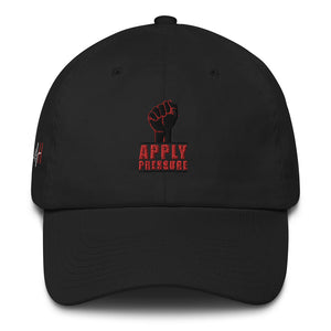 APPLY PRESSURE/BLACK FIST CAP