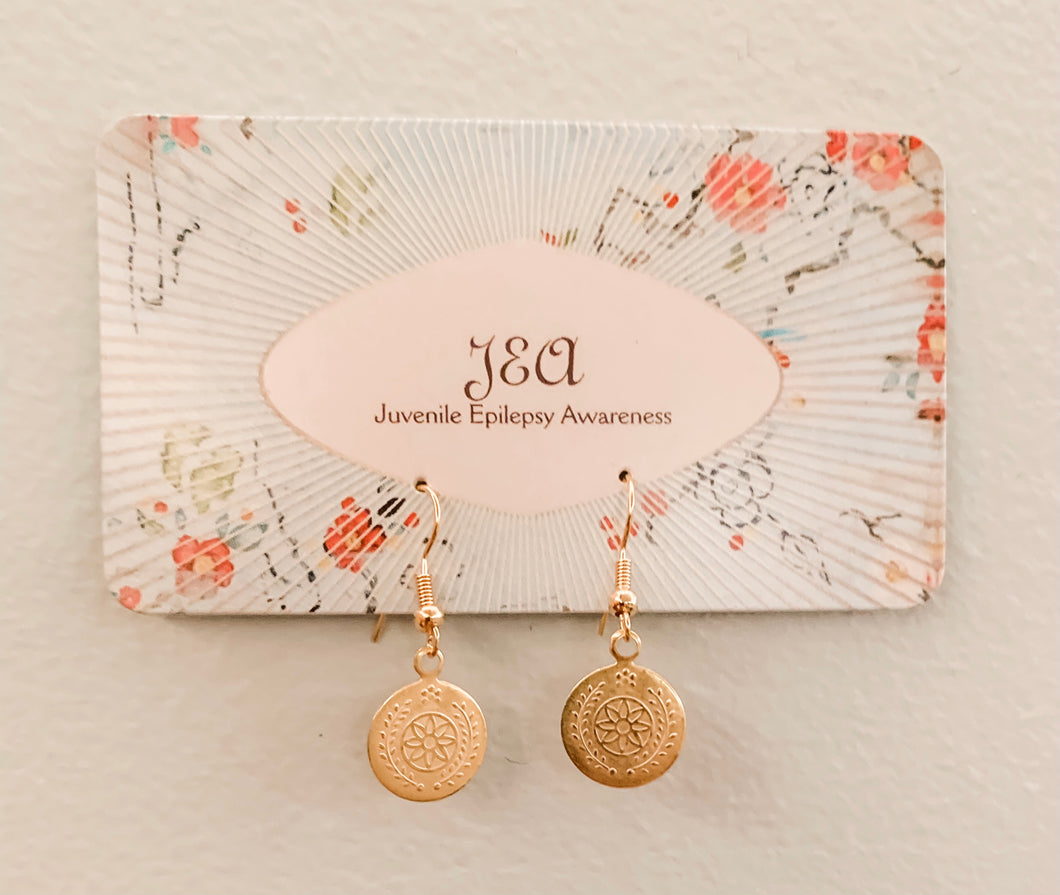 Delicate Vintage Gold Earrings