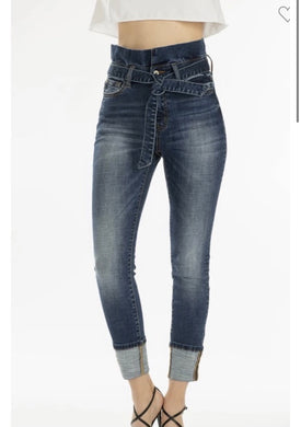 Designer Jeans with Trendy waistline