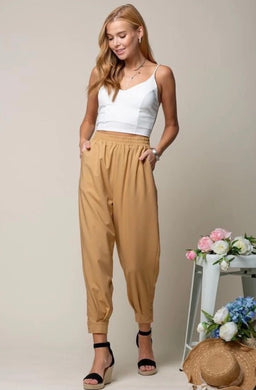 Light Weight dressy joggers (dress up or down)