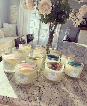 Large ALL Soy Woodwork Candle