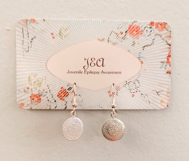 Delicate Vintage Silver Earrings