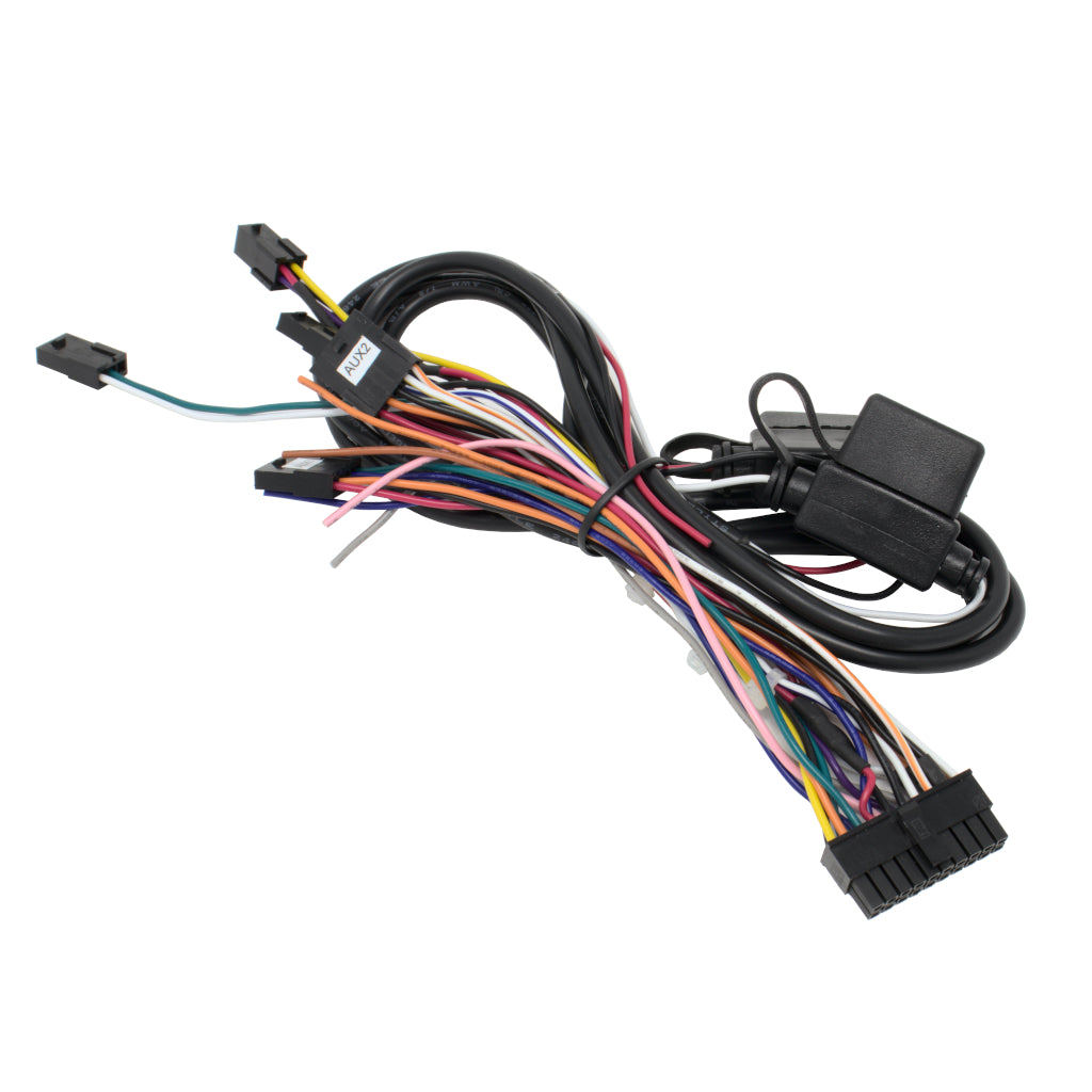 20-pin Dual Row Connectorized Power Harness. Equivalent cable for 5C260 with all I/O populated.