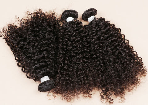 RAW Human Hair - Bundle Package with Frontal