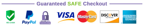 Secure checkout guaranteed logo
