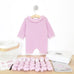 Frill neck onesie with crochet kit contents