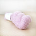 Pink lambswool yarn