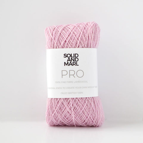 light pink crochet yarn lambswool