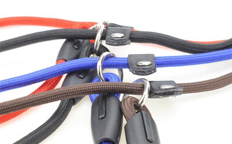 10 Pack Nylon Rope Kennel Leads 4 Foot Length 10 PACK