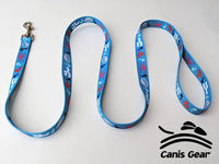 "Colorful Ocean LARGE Leash 1""x6 10 PACK"