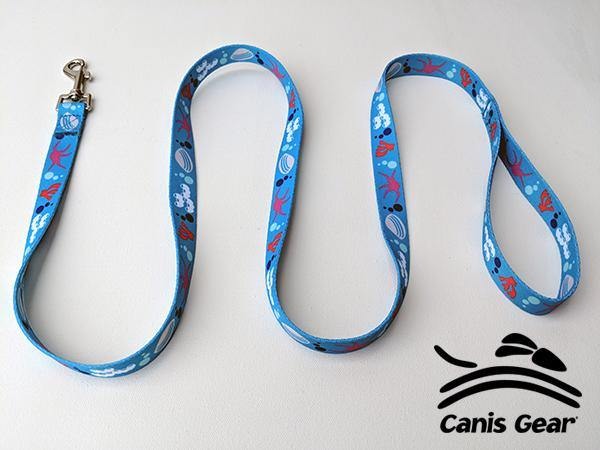 "Colorful Ocean SMALL Leash 5/8""x6 10 PACK"